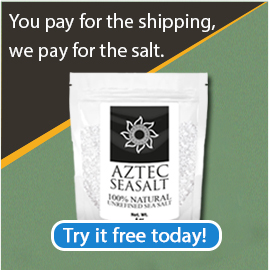 Get A Free Bag Of Salt