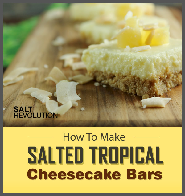How To Make Salted Tropical Cheesecake Bars